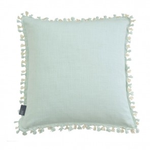 Tassel 2 Tone Cushion by MM Linen