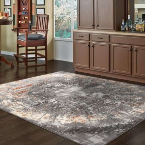 Lotus 2728 LT. Grey by Saray Rugs