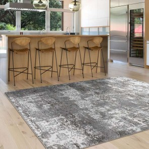 Lotus 2729 LT. Grey by Saray Rugs