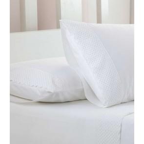 Lucia White Sheet Set by MM Linen