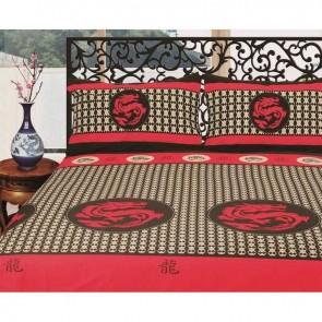 Luxury Shanghai Dragon Egyptian Cotton Quilt Cover Set by Kingtex