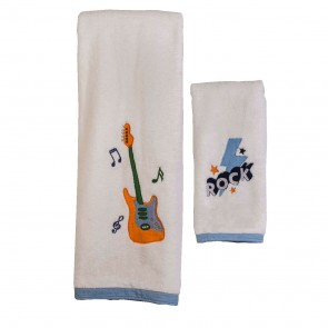 Rockstar Hooded Towel Set by Aden & Anais CS