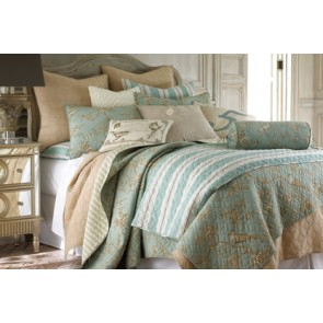 Lyon Teal Bedspread by Classic Quilts