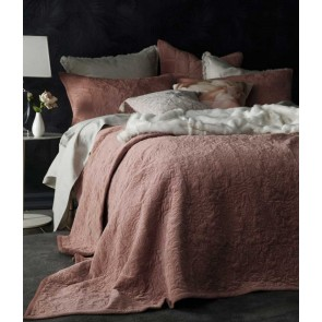 Mandel Super King Bedspread Set Cedar by MM Linen