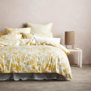 Marsella Mango Quilt Cover by Sheridan