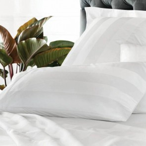 White 1200TC Masterson Flat Sheet Set by Sheridan