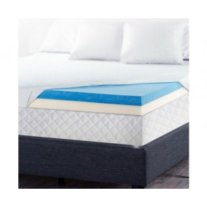 Queen Size Dual Layer Cool Gel Memory Foam by Giselle Bedding