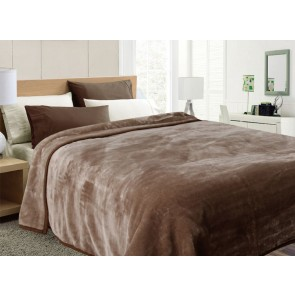 600 gsm Single Mink Blankets by Kingtex