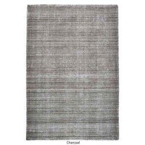 Medanos Charcoal Hand Woven Rug by Rug Republic