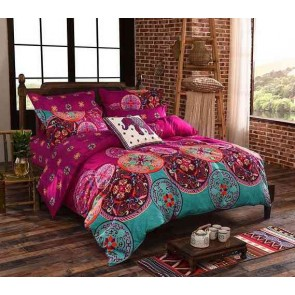 Medit Quilt Cover Set by Fabric Fantastic
