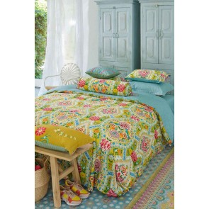 Melody Yellow Cotton Quilt Cover Set by Pip Studio