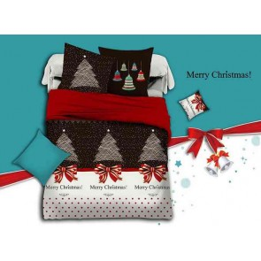 Merry Christmas Quilt Cover Set by Fabric Fantastic
