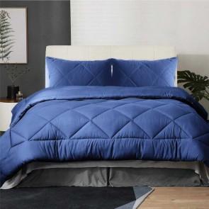 Mink Flannel Comforter Set by Kingtex