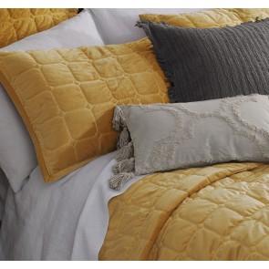 Meeka Gold Comforter Set by MM linen