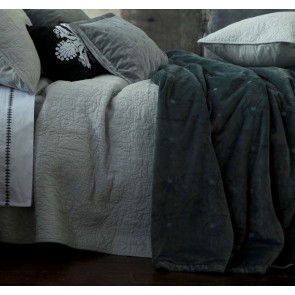 Vivi Charcoal Comforter Set by MM linen
