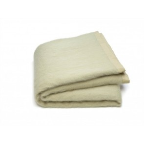 Celadon Mohair Blanket Set by St Albans