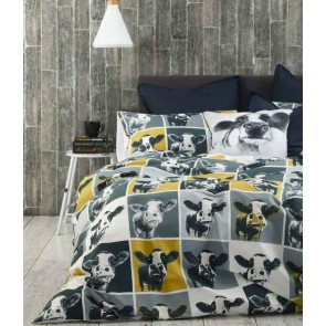 Moo King Single Quilt Cover Set by MM Linen