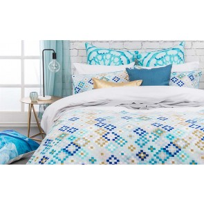 Mosaic Single Quilt Cover Set by Bambury