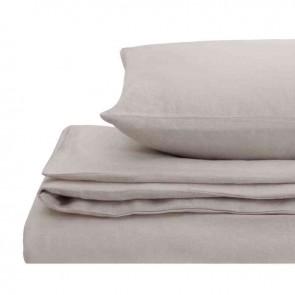 Linen Natural Home 100% European Flax Linen Quilt Cover Set