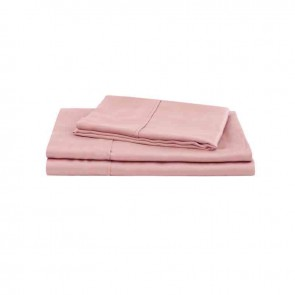 Blush Pink Natural Home 100% Tencel Sheet Set