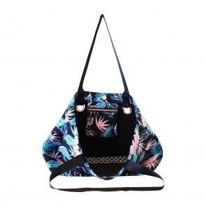 Neoprene Beach Bag Neon Tropical by Escape To Paradise