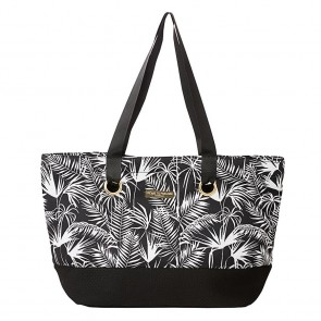 Neoprene Beach Bag Polynesia Black by Escape To Paradise