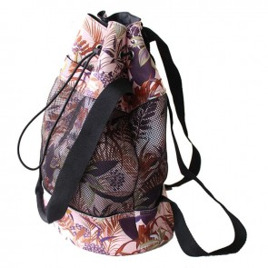 Neoprene Mesh Pocket Backpack Spring Flowers by Escape To Paradise