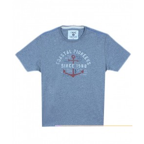 Next Coastal Pioneers Grey T-Shirt