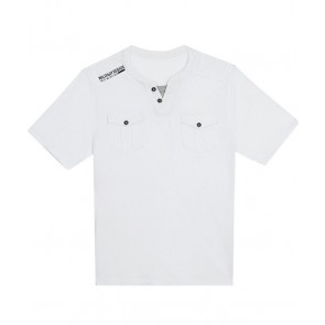 Next Military Style White T-Shirt