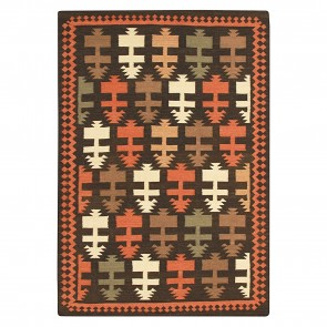 Nomadic Charm Indian Dart Kilim Rug by Rug Culture