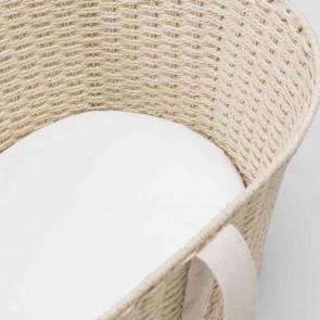 Organic Cotton Auden Baby Bassinet Sheet by Sheridan