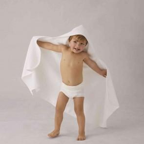 Organic Cotton Olsun Hooded Toddler Wrap by Sheridan