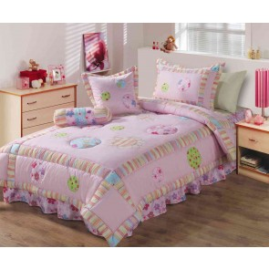 200 GSM 100% Cotton Kids Single/ King Single Comforter Sets by Ramesses