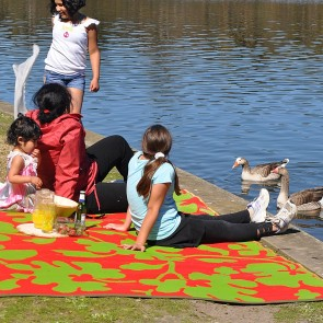 Oslo Plastic Outdoor Rug by FAB Rugs