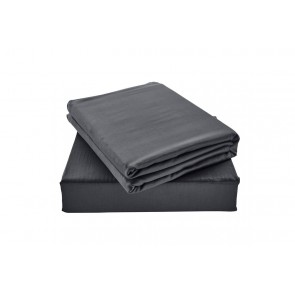 100% Natural Bamboo Queen Bed Sheets Set Charcoal