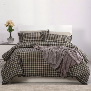 Oxford 250TC Egyptian Cotton Printed Quilt Cover Set