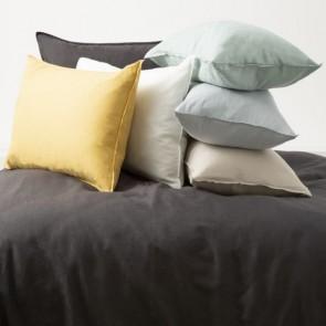 Cavallo Stone Washed 100% Linen European Pillowcase