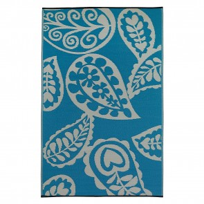 Paisley River Indoor/Outdoor Rug by FAB Rugs