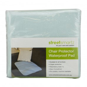 Pale Blue Cot/Chair Waterproof Pad by Silly Billyz