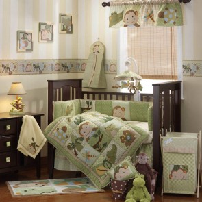 Papagayo 4pce Crib Set Baby Bedding by Lambs & Ivy