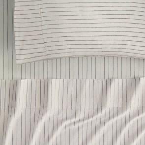 Pascoe Winter White Flannelette Sheet Set by Sheridan