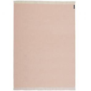 Pink Mohair Throw Rug by St Albans
