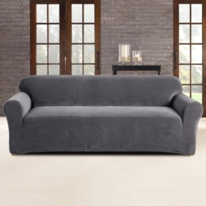 Sure Fit Pearson 3 Seater Slate Sofa Cover cs