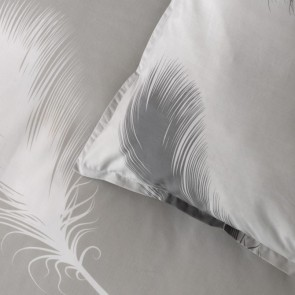 Penna Silver Quilt Cover Set by Bianca