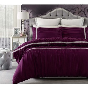 Persia Mulberry King Quilt Cover Set by Phase 2