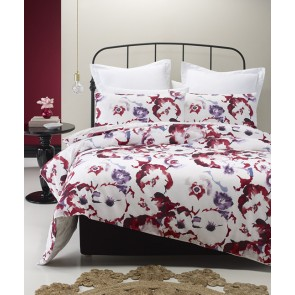 Water Red Single Quilt Cover Set by Phase 2