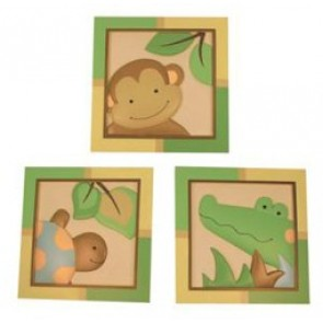 Papagayo 3 Piece Wall Decor by Lambs N Ivy