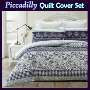 Piccadilly Quilt Cover Set by Phase 2