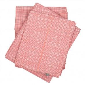 Cross Hatch Pink Sheet Set by Scout
