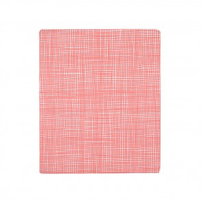 Cross Hatch Pink Sheet Set by Scout
